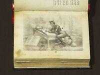 Libro Satanás México 1869 Satan Lithographic Plates Illustrated Moral Religion