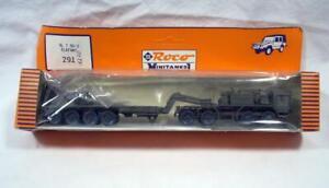 HO Scale 1:87 Roco Minitanks 291 Elefant Flatbed Transporter Military Vehicle