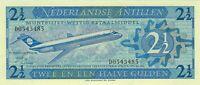 Netherlands Antilles, 1970 2 1/2 Gulden P21a  ((Unc))