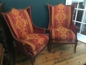 Pair Of Art Nouveau Style Chairs