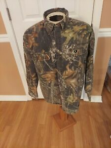 Men's Mossy Oak Breakup Explorer Pro Button Up 007 Size XL