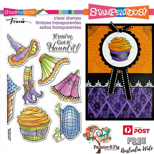 Witch Stamps, Halloween Witchy Legs, Wizard of Oz, Cauldron, House, Stampendous