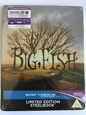 Big Fish Steelbook Limited Edition ( Blu Ray)