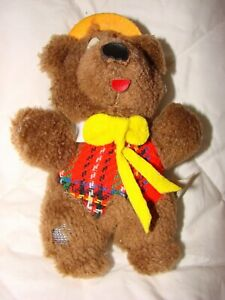 Vintage Mini Humphrey B Bear Collectable Plush Toy 15cm Long