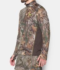 Under Armour 1259149-946 Men's Scent Control Nutech 1/4 Zip Pullover Realtree MM