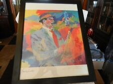 Frank Sinatra Duets Lithograph By Leroy Neiman - SIGNED & Framed