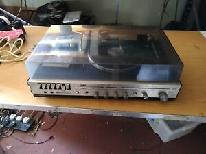 National Panasonic SG-1060L music system, turntable, radio, tape/cassette (388)