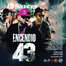 DJ SINCERO Encendio 43 Reggaeton Latin Spanish Trap Mixtape CD MIX