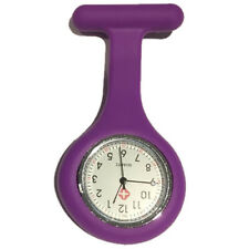 World of Clogs Silicone Fob Watch in Purple