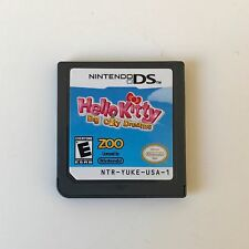 HELLO KITTY: BIG CITY DREAMS (Nintendo DS) TESTED! WORKS! Game CARTRIDGE ONLY!