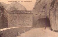 FOSSOMBRONE (PESARO-URBINO) - GALLERIA DEL FURLO - RARA CARTOLINA - INIZIO '900
