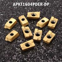 10Stück APKT1604PDER DP Wendeschneidplatten Wendeplatten für Drehmeißel Drehen