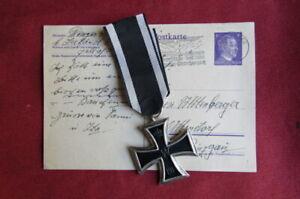 I primera guerra mundial Medalla alemana Cruz de Hierro II clase año 1914 1918
