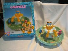 Garfield Chip & Dip Bowl never used