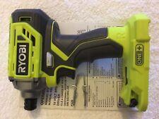 "New Ryobi P239 One + 18V 18 Volt 1/4"" Hex Brushless Cordless Impact Driver"