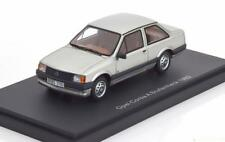OPEL CORSA A STUFENHECK 1982 SILVER BOS 43115 1/43 SILBER ARGENT RESIN MODEL