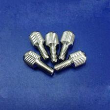 M1.6 M2 M3 stainless steel thumb screw small head knurled hand twist screws 5pcs