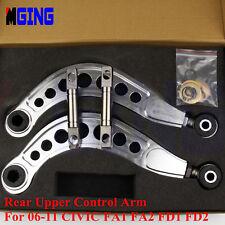 FOR HONDA CIVIC FA1 FA2 FD1 FD2 R18 06-11 REAR UPPER CONTROL ARM CAMBER KIT SI