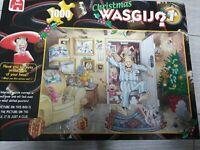 Jumbo Wasgij Christmas No 1 Complete 1000 piece Jigsaw Puzzle Xmas Rare