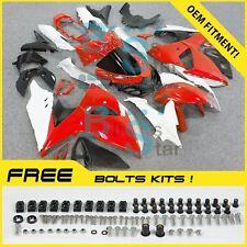 Red white GSXR1000 Fairing Fit Suzuki GSX-R1000 2010 2011 12 13 2009-2016 002 A7