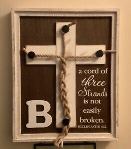 wedding a cord of three strands unity cross