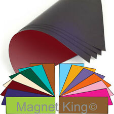 "Flexible Magnetic Sheets, Your Choice of Brilliant Colors!  12"" x 24"" Magnet"