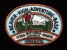 BOY SCOUT    BEAVER HIGH ADVENURE BASE  UNDATED PP   UTAH NATIONAL PARKS CNCL