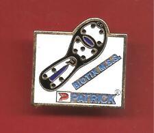 Pin's pin MARQUE DE SPORT PATRICK chaussure football BIOTIX M.S.S