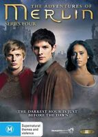 The Adventures Of Merlin : Series 4 (DVD, 5-Disc Set) NEW