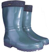 Womens Ladies Lining Wellington Boots Waterproof Wellies Walking Gardening Rain