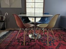 Mid Century Chrome Saarinen Style Table Base Only Tulip Dining Side Table