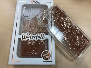 Case Mate Waterfall Case for Apple iPhone XS Max Clear/Gold