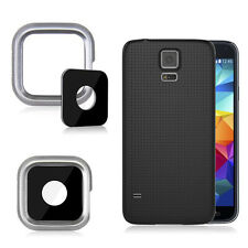 Hot Sale Back Rear Camera Cover Lens Glass Frame Parts For Samsung Galaxy S5  XC