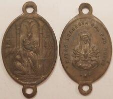 Médaille Religieuse, Mater Dolorosa Ora Pro Nobis, 19° siècle !!