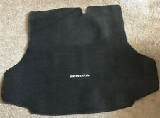 2014-2018 NISSAN SENTRA CARPETED TRUNK MAT BLACK OEM WITH LOGO