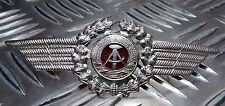 Genuine East German Forces Metal Cap Badge DDR NVA  Military  - NEW