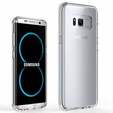 Samsung Galaxy S8 Plus Case Cover Ultra Thin Clear Transparent Silicone Soft Gel