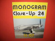 Monogram Close-Up 24, Tank Ta 152