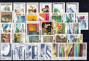1978 PORTUGAL - Ano completo MNH