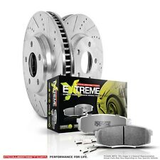 Power Stop K4547-26 Z26 Street Warrior Front Disc Brake Pad and Rotor Kit