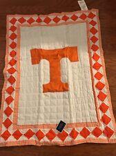 "NIB University Of Tennessee Quilt 34"" X 43"" Blanket Go VOLS"