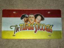 THREE STOOGES license plate AWESOME