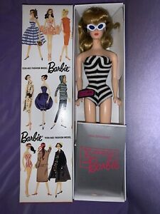 Vintage Reproduction 1959 Barbie Doll TEEN AGE FASHION MODEL  STOCK No. 850