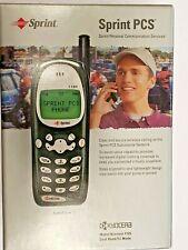 KYOCERA 1135 - Green/Black (Sprint) Cellular Phone, New