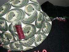 Bungalow 360 Übër Cute! Walrus Natural Canvas Reversible Toddler Hat! <3