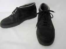 Mephisto 12 US Black City Hiker Casual Oxford Leather Comfort Walking Shoes Mens