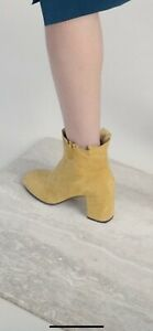 Coclico Liseli Yellow Suede Boots 37