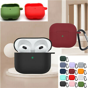 Silicone Protective Case Anti-fall Cover for Airpods 3 2021 Wireless Earphones