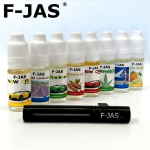 REFILLs 10ml for Oil-Based Car Vent Air Fresheners (F-JAS).  Refills any Brand.