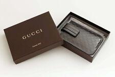 Gucci GG iPhone Hülle Neu NP 135,- Guccissima Schutzhülle Leder Bronze Case